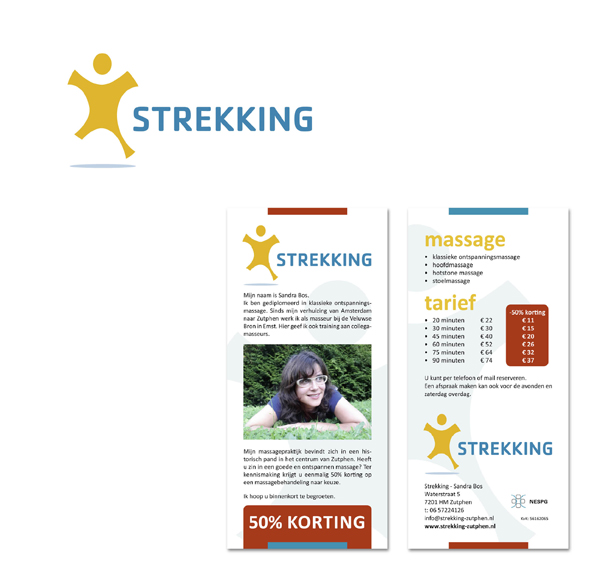 folder Strekking massage